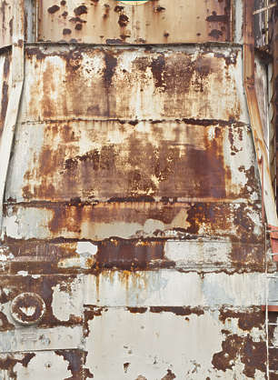 metal paint worn old rust rusted painted new york ny