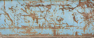 metal rust scratch painted