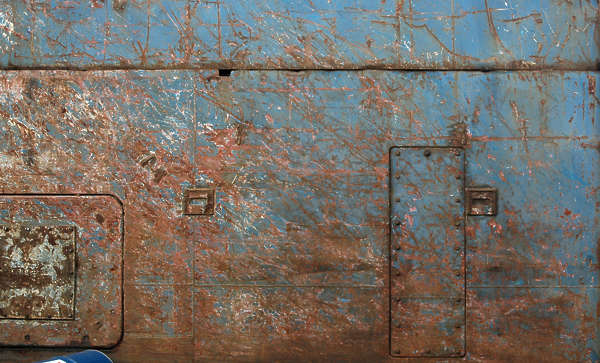 metal painted rust wall scratches