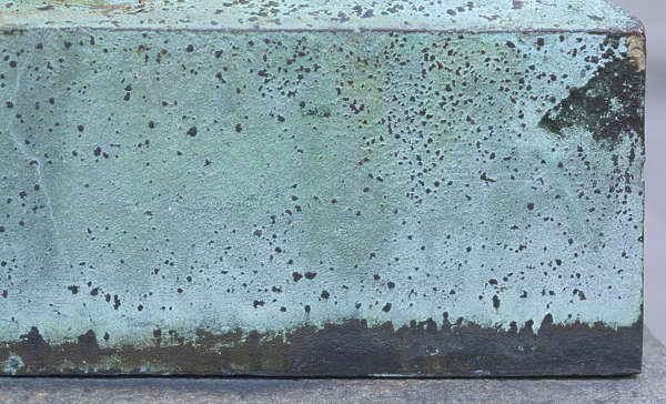 metal rust rusted painted gradient