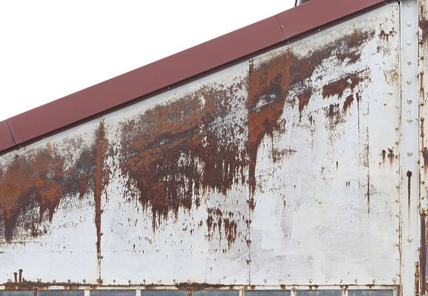 metal rusted paint