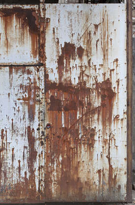 metal rusted rust