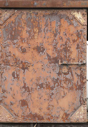rust rusted paint painted old