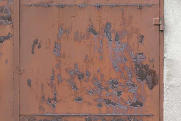 metal plate plates rusted