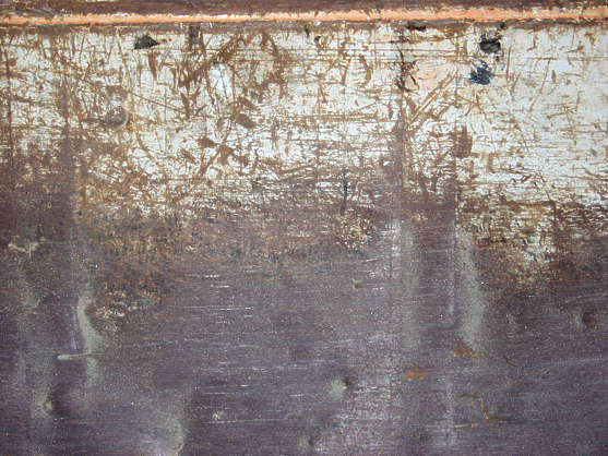 rust paint scratches