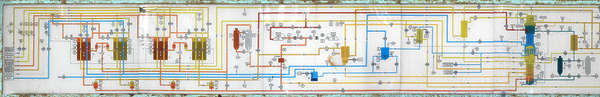 sign schematic factory chemical process schema