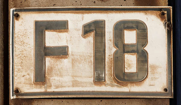 sign F 1 8 old