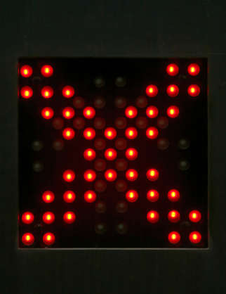sign cross leds led