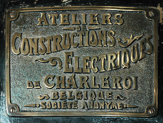 sign brass metal old