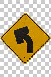 sign arrow traffic