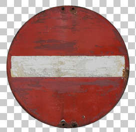 traffic sign old