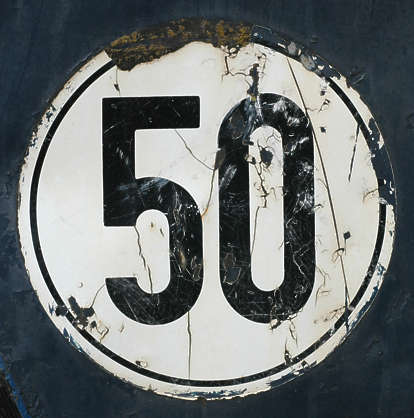 sign traffic speed 5 0