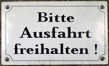 sign german