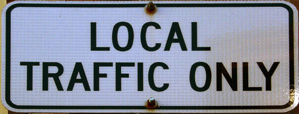 traffic sign local