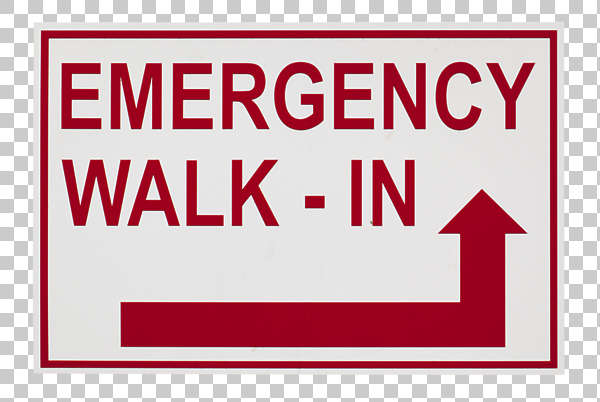 sign english new york NY US emergency hosptial