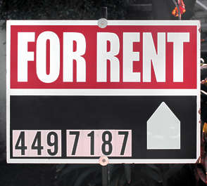 sign rent information usa united states american
