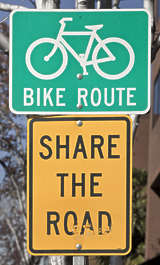 sign traffic usa united states american bike bicycle