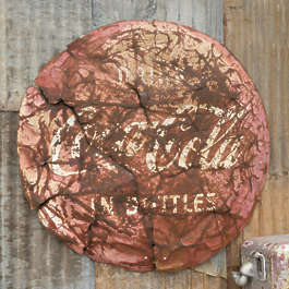 USA nelson ghost town ghosttown sign round rusted old damaged