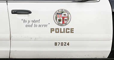 sign police usa united states american los angeles LAPD