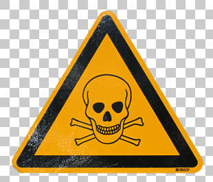 sign danger skull death warning