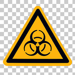 sign danger biohazard toxic poison