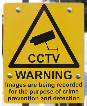 sign UK traffic cctv surveillance