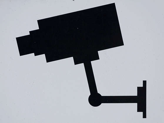 camera sign surveillance