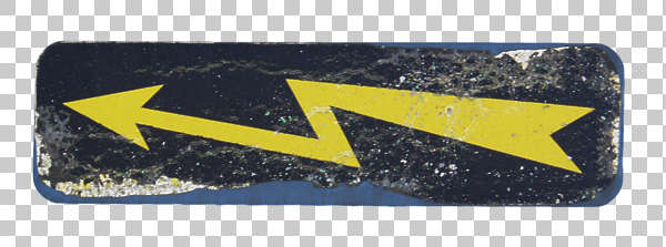 sign warning high voltage shock danger lightning arrow isolated