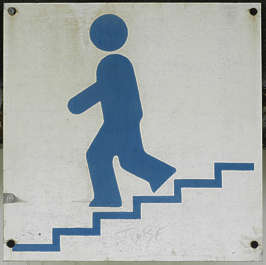 sign signs stair stairs staircase