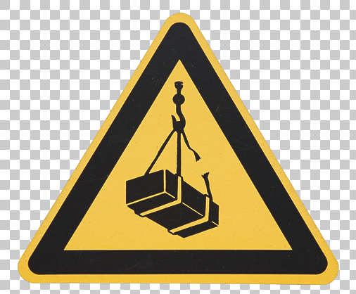 sign warning fall load danger
