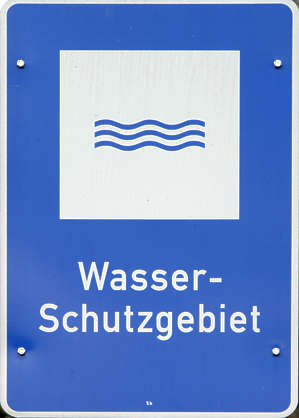 sign signs water
