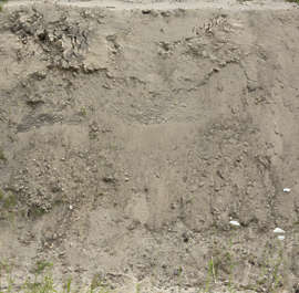 earth cliff ground soil