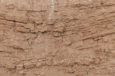 earth cliff soil spain