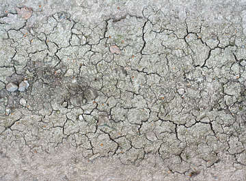 earth ground dry cracked