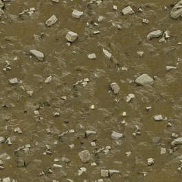 sand river bed stones mud riverbed