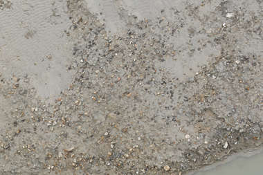 sand pebbles soil earth mud beach