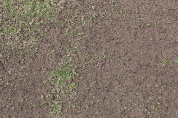 aerial ground terrain soild mud earth