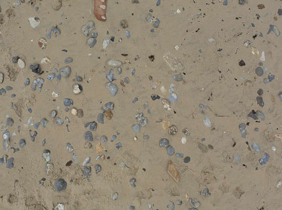 UK sand beach pebbles