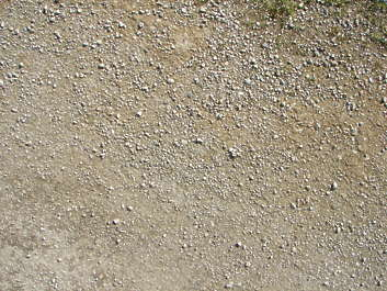 ground pebbles stones sand