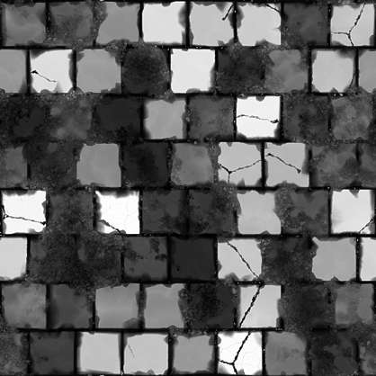 substance shader material street cobblestone pavement floor old temple brick square regular