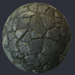 substance shader material street cobblestone pavement floor old temple brick flagstones flagstone