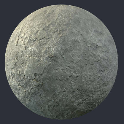 Substance shader customizable material PBR concrete bare worn old damaged brown plaster wall