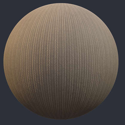 Substance material shader PBR fabric wool knitted