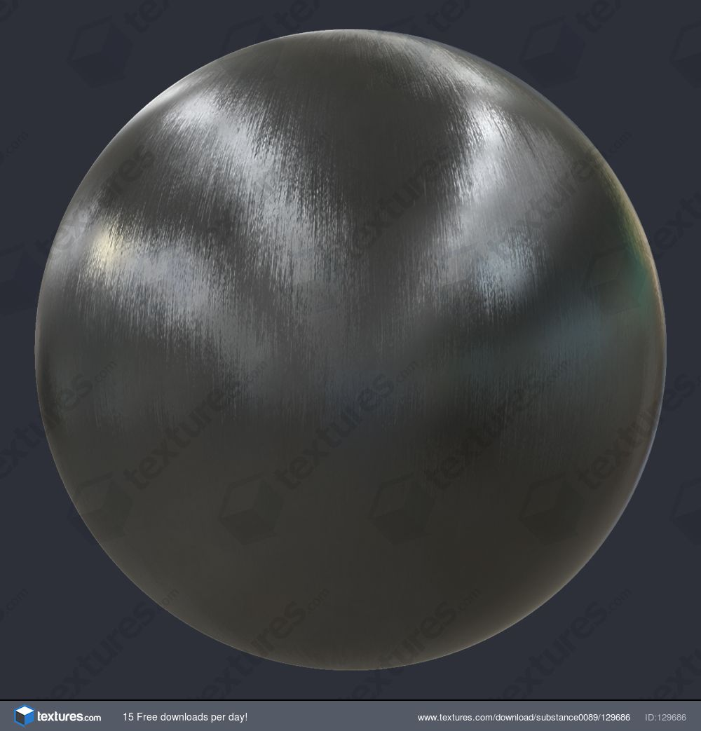 Brushed Metal Substance Material (S0089)