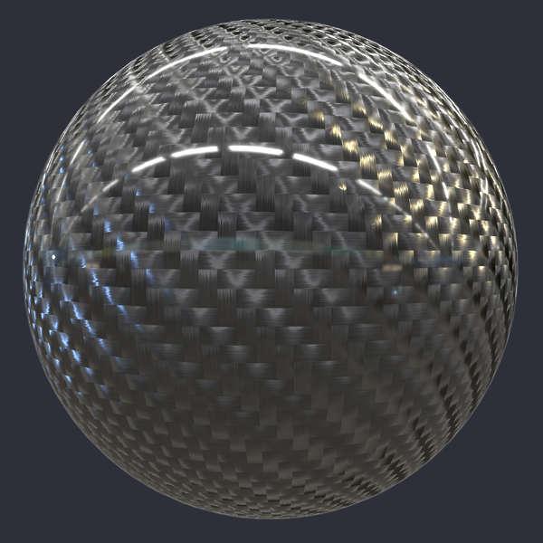 Carbon Fiber Twill Weave S0091