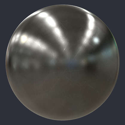 Substance material shader PBR scratched steel scratches metal scratch shiny new clean