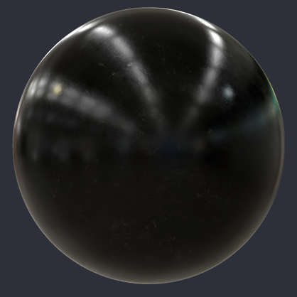 Dirty Shiny Plastic Pbr Material S0119