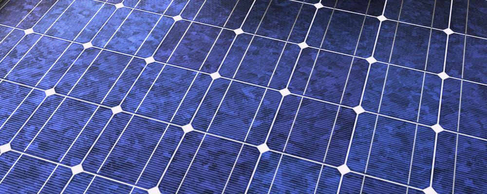 Solar Cells PBR Material (S0102)