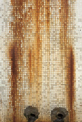 hong kong asia asian china tiles tile small leaking dirty old