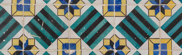 tile pattern wall azulejo Portugal patterned